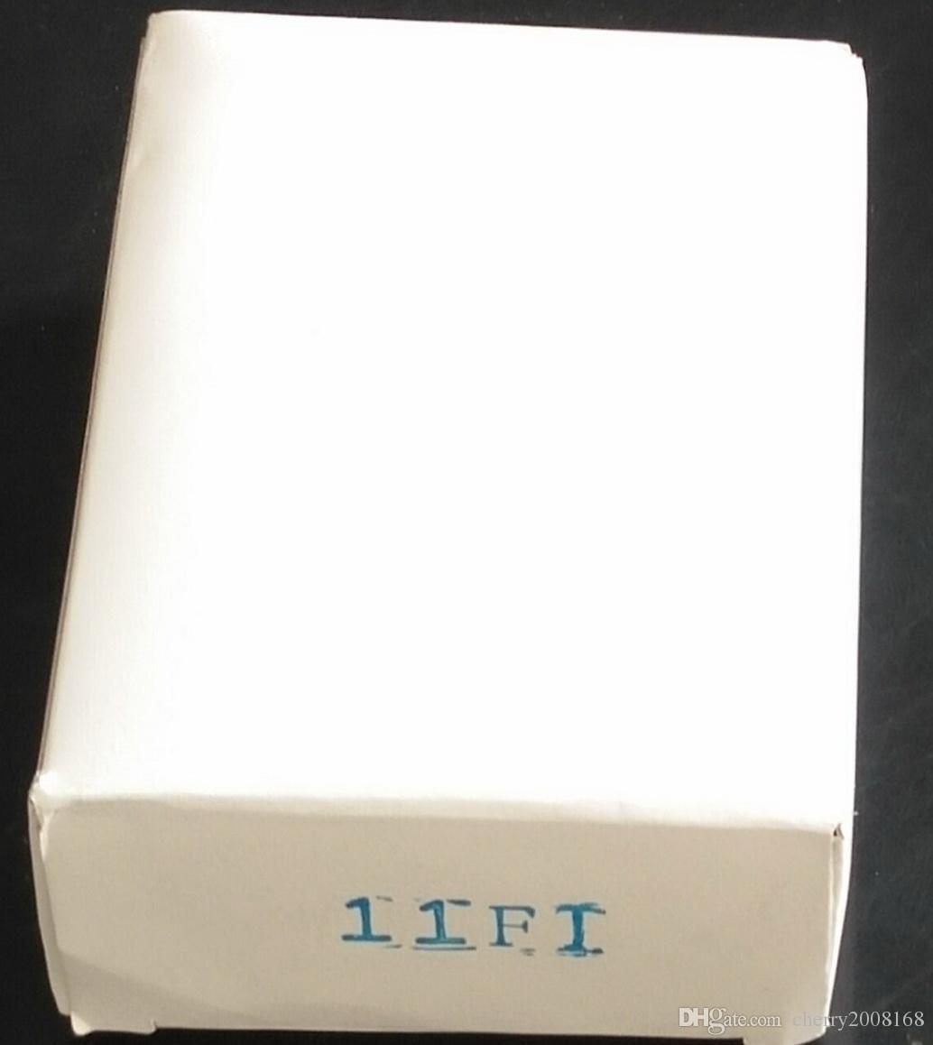 11FT 새로운 처분 할 수있는 귀영 나팔은 구두를 신 긴다 통조림으로 만든 입술 분사구를위한 108MM 까만 문신 긴 통행 통행을위한 분사구를 기울인다