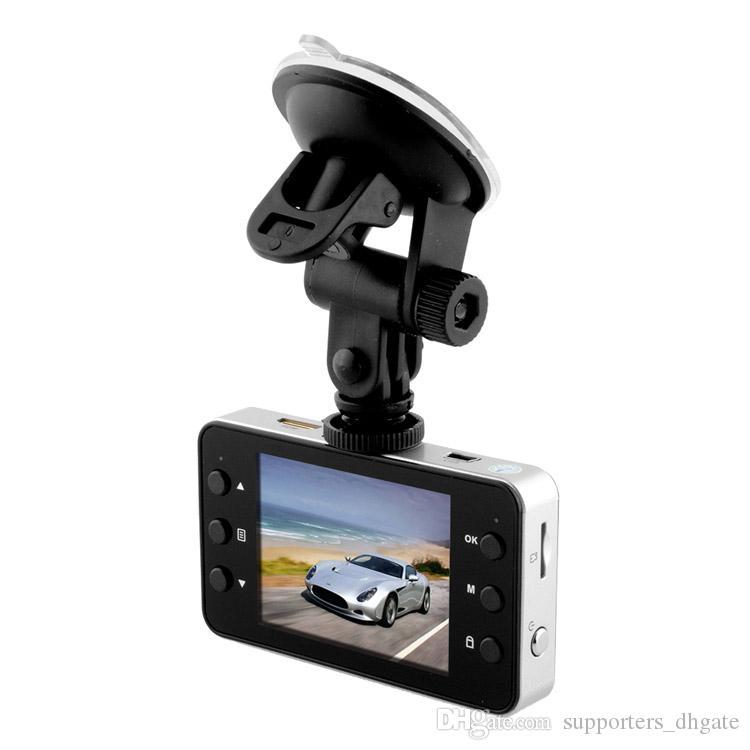 Car DVR K6000 LCD 2.2inch1080P Full HD LED Night Recorder Dashboard Vision Veicular Camera dashcam Carcam video Registrator Car DVRs