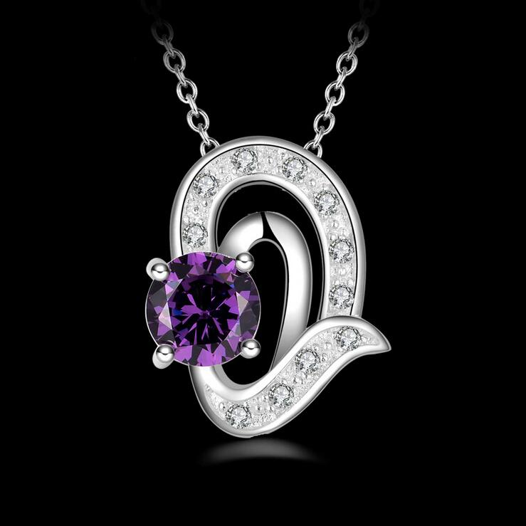 necklaces white and amethyst purple diamond necklace louise in detail tear pendant ann product jewellers by drop gold