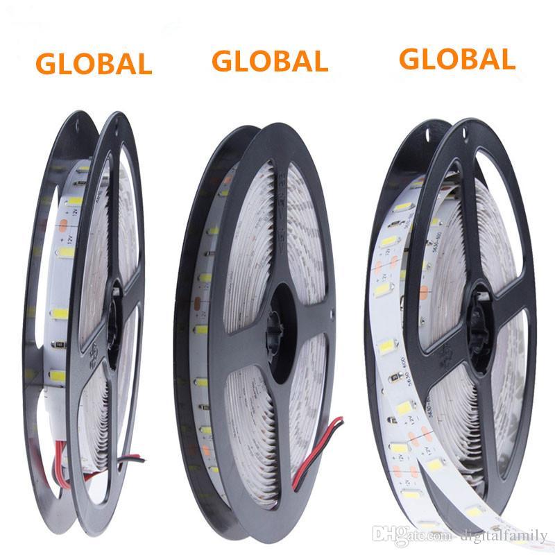 led ribbon Alta potenza 100W Super Bright 5M 300 5630 SMD bianco freddo bianco puro caldo Bianco Flessibile LED Strip Light NON WATER 12V