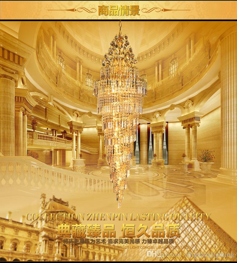 lustres en cristal éclairage Mode oderne clair Spirale Sphère LED Lustre en cristal Lustres Plafonnier Suspension 110-240V