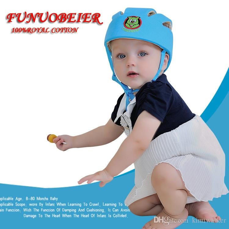 baby infant protective hat crashproof bump Anti- Shock safety cap playing toddler cap baby Helmet Toddler for learning walk