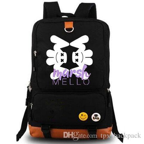 00bd865f9e Cool DJ Backpack Marshmello Day Pack Marshmallow Fans School Bag Music  Packsack Quality Rucksack Sport Schoolbag Outdoor Daypack Book Bags  Herschel ...