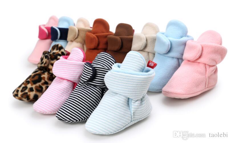 Nouveau-né Bébé Filles anti-dérapant semelle souple prewalkers Casual Cute Crib Chaussures