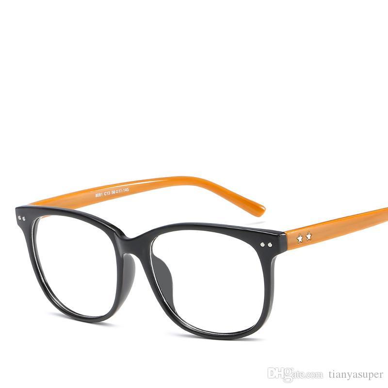 Großhandel Neue Elegante Frauen Männer Brillen Rahmen Weibliche ...