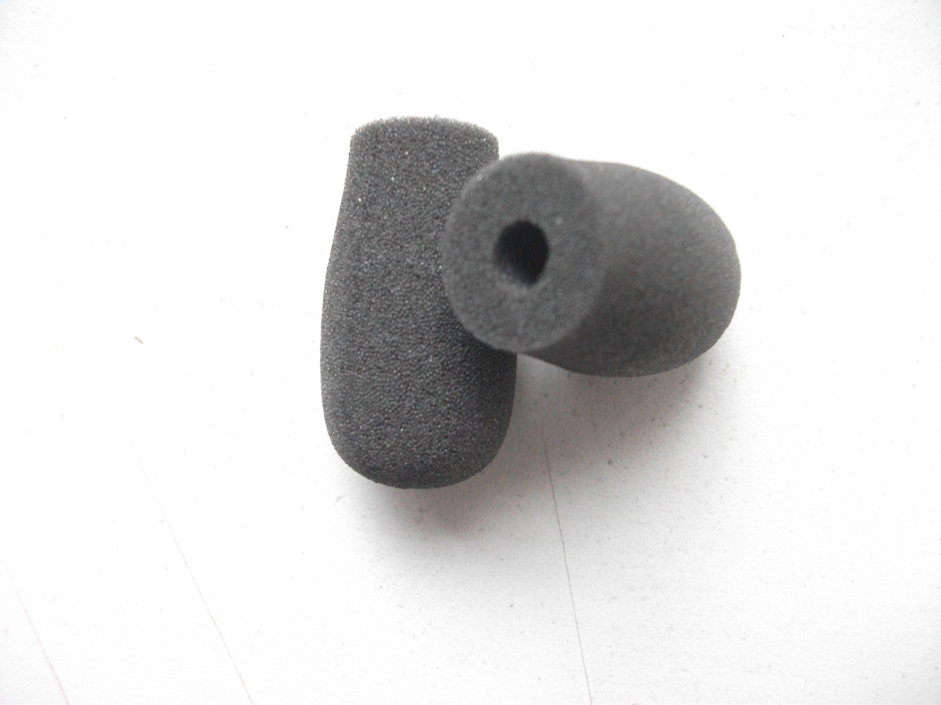 Foam Microphone Windscreen, mic sponge cover 5mm inner diameter & 30mm inner length /