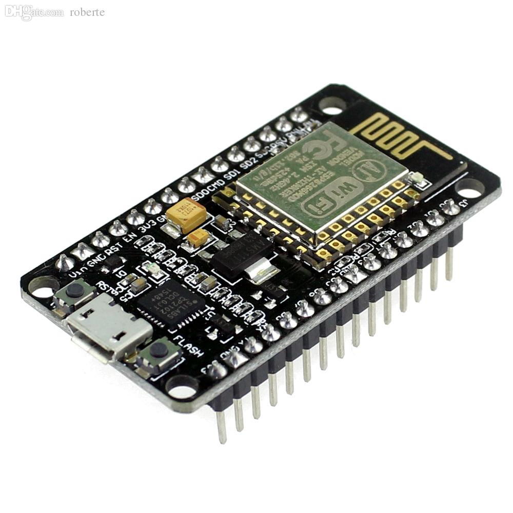 Wholesale-New Wireless Module NodeMcu Lua WIFI Internet of Things Development Board Based ESP8266 with Pcb Antenna and USB Port Node MCU