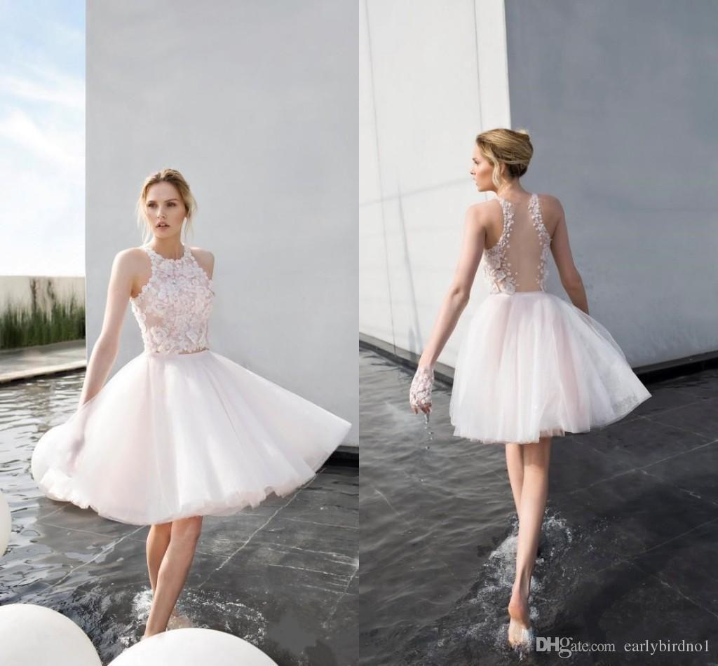 Discount Junior Dress White Halter Lace | Junior Dress White Halter ...