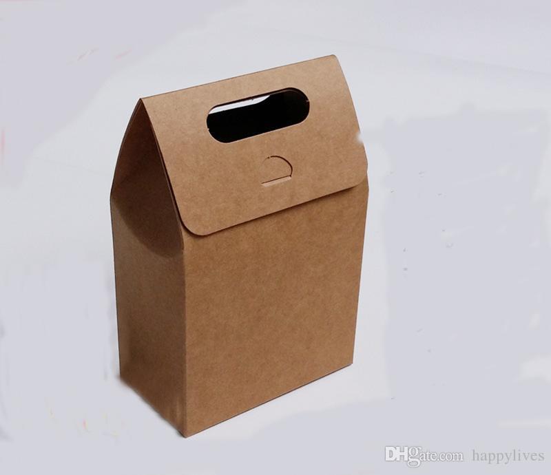 Lunch Boxen 10 Kinder Party Lunch Boxen Takeaway Boxen Geburtstag Hochzeit Food Bag Mahlzeit Teebeutel Food Party Leder Geschenkbeutel