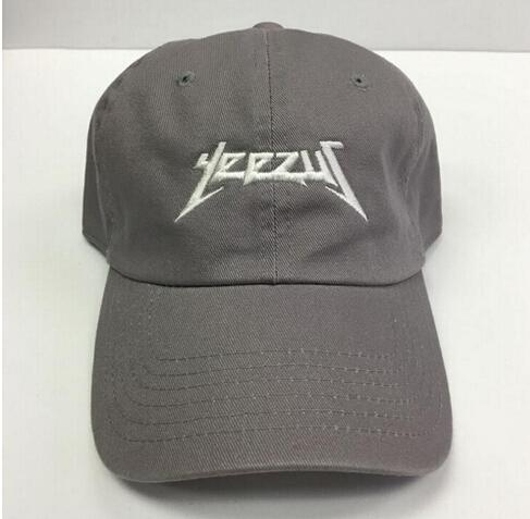 287fd8ed12c 2016 New Black Yeezus Embroidered Glastonbury Unstructured Dad Cap ...