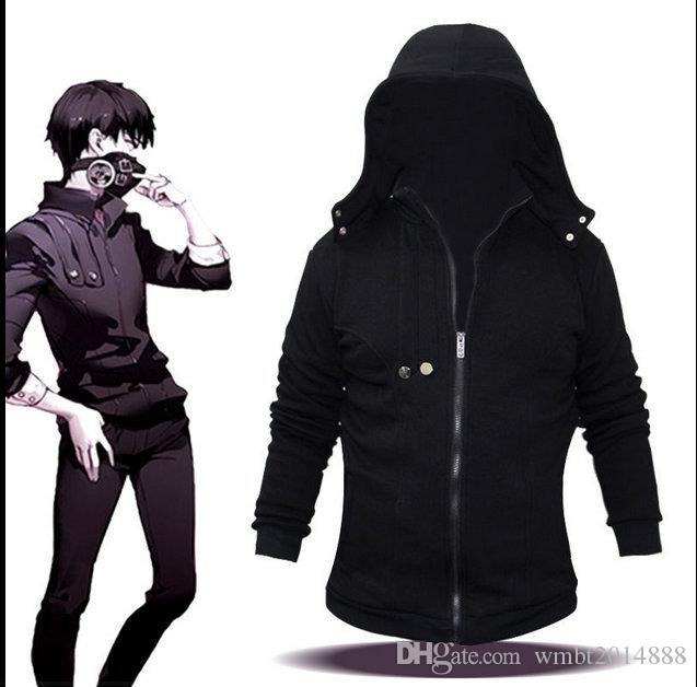 Tokyo Ghoul MenS Sweater Japanese Anime Jacket Zipper Shirt Cbj Hockey Hooded Jackets From Wmbt2014888 392