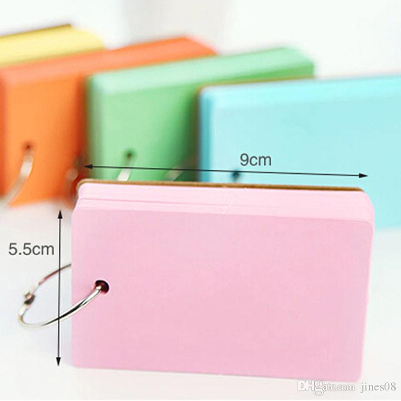 Color Pages Mini Memo Pad Notebook Gift Stationery School Office Home Supplies Portable Notepad Prize