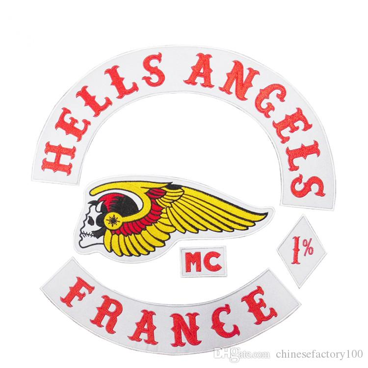 gro handel badge hells angels motorrad original stickerei. Black Bedroom Furniture Sets. Home Design Ideas