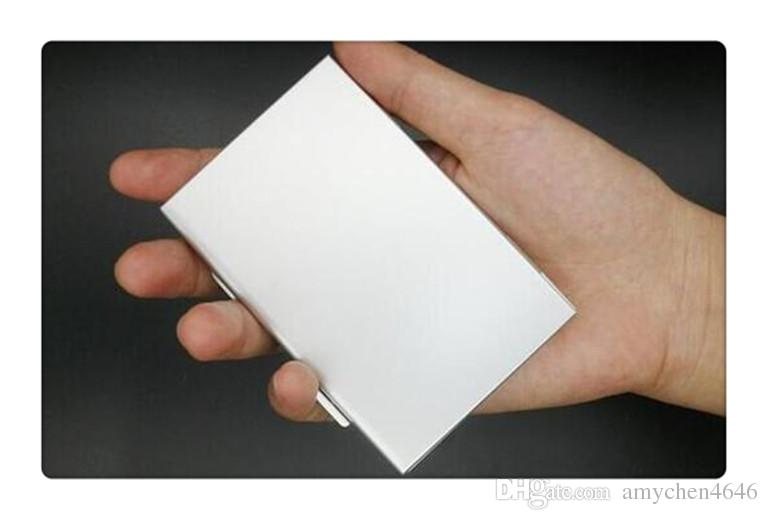 Metal Aluminum 2GB/4GB/8GB TF/SDMemory Card Storage Box Protecter Case Holder