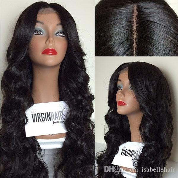 4 4 Silk Top Human Hair Wigs Free Part Lace Front Wigs   Silk Base Full  Lace Wig Brazilian Virgin For Black Women   Baby Hair Full Lace Wig Human  Hair Short ... 0ad9f3df1d
