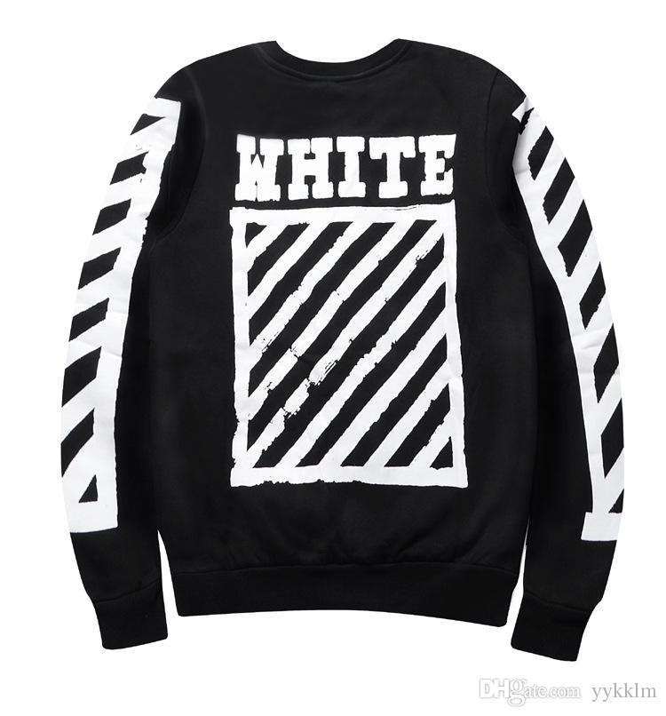 2017 2016 Autumn Winter Ture Brand Off White Hoodie Stripes ...