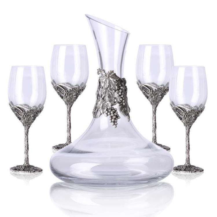 hand made wine glasses set metal casting base wine glasses set crystal wine glasses wine glasses set