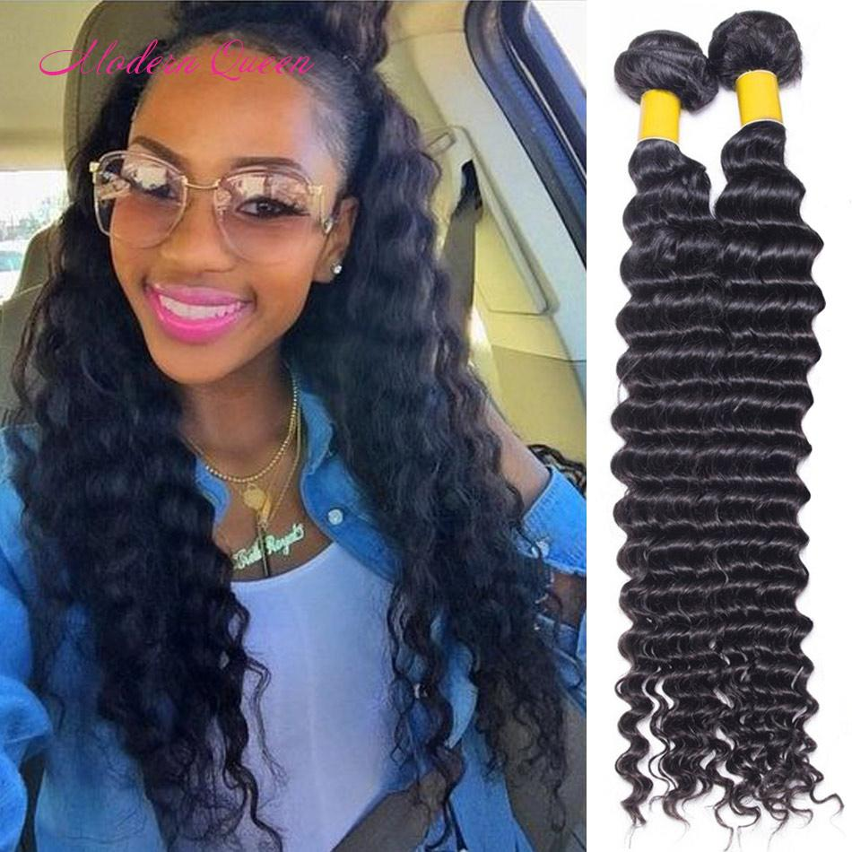 Brazilian Deep Wave Hair Weave 2 Bundles For Sale Brazilian Deep Wave Weave  Human Hair Extensions Cheap Nice Brazilian Deep Curl Hair Wefts Remy Curly  Hair ... 282c98afc58a
