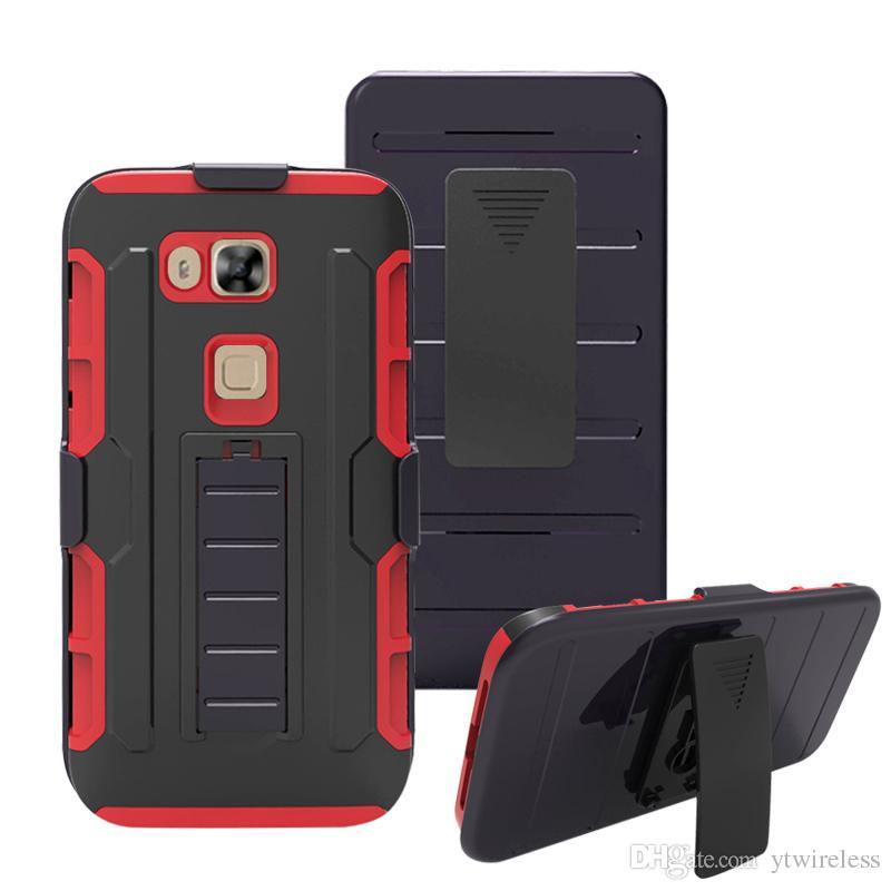 For iPhone 8 Plus X 7 6 5SE 5C 4S Hot Sale Hard Belt Clip Back Cover Defender Kickstand Hybrid Combo Holster Case