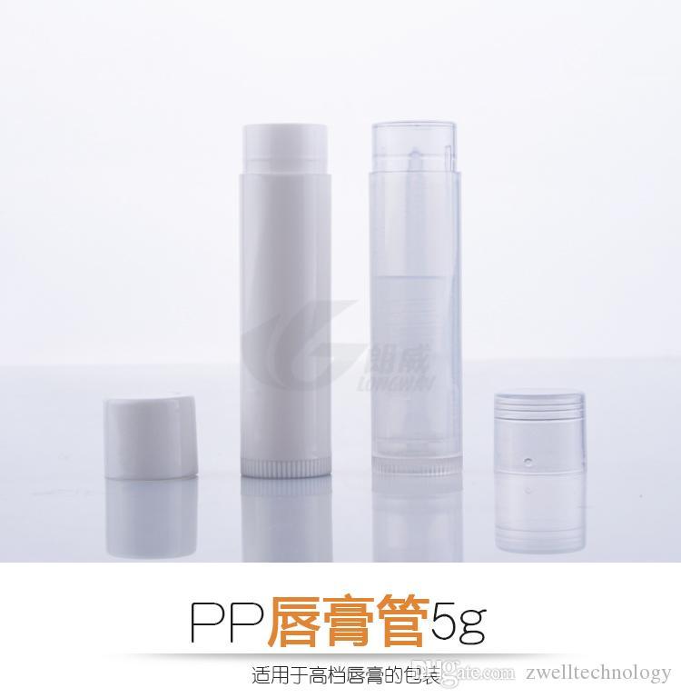 DIY 5 г бальзам для губ пластиковые тубы контейнер блеск для губ контейнеры для бальзама для губ пустые контейнеры для помады губная помада трубки
