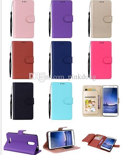 Precioso diario, billetera, marco de fotos, tapa de cuero, funda con tapa para Xiaomi Redmi Note3 y Note4