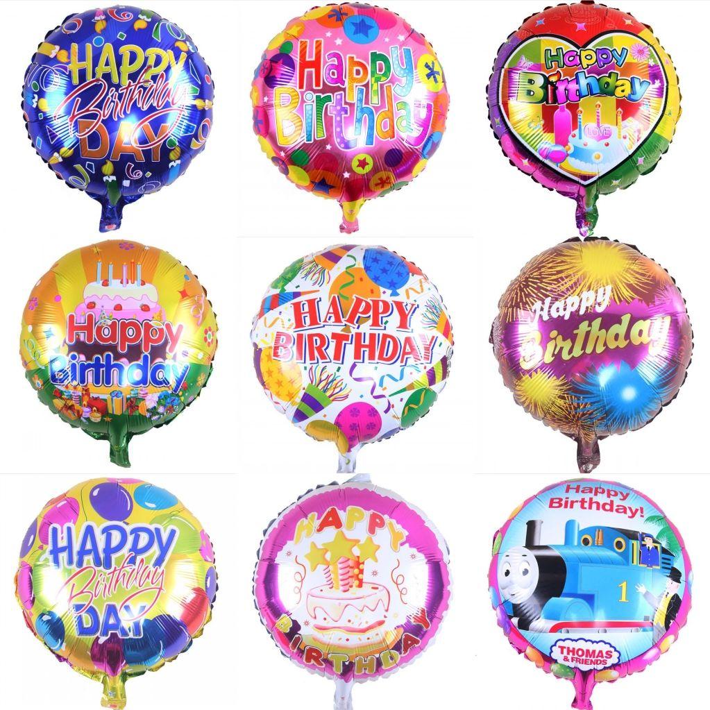 Happy Birthday Word Party Balloons Children Birthday Party