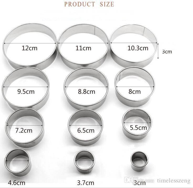 Standard Cake Tin Size