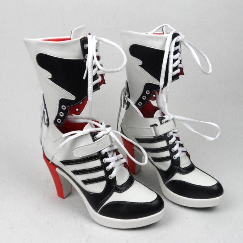 faaf80de1a68 Wholesale-suicide Squad Harley Quinn Boots Bota Accessories Black ...