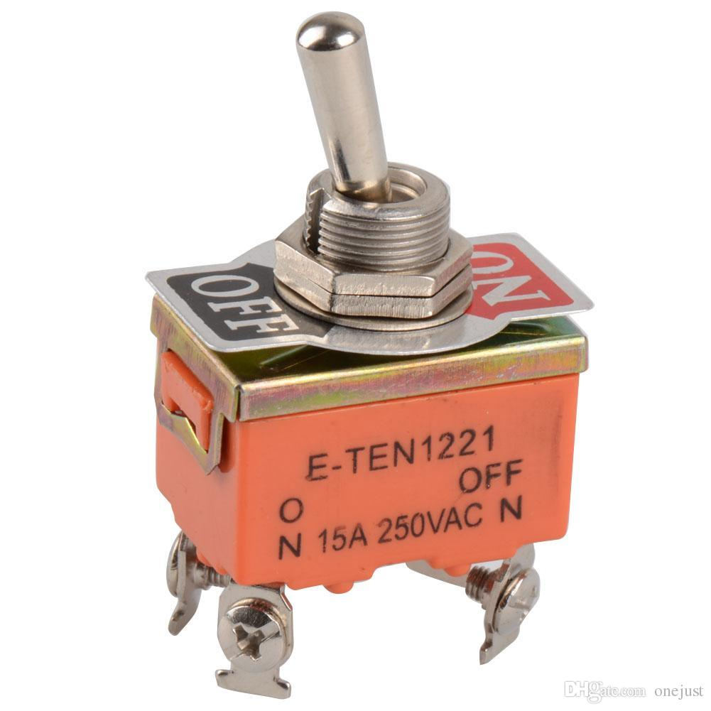 2018 4 Pin Toggle Switch On Off Two Position 15a 250v Ost Pir Sensor Circuit Pinterest From Onejust 108