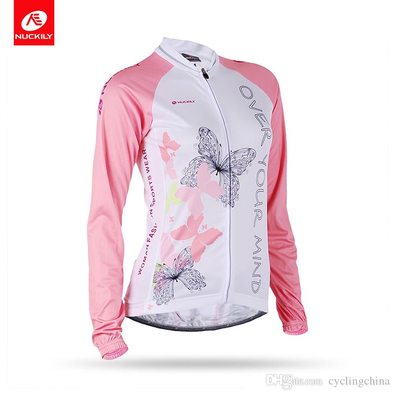 4c17da419 NUCKILY Women s Sublimation Print Bike Apparel Quick Dry Cycling ...