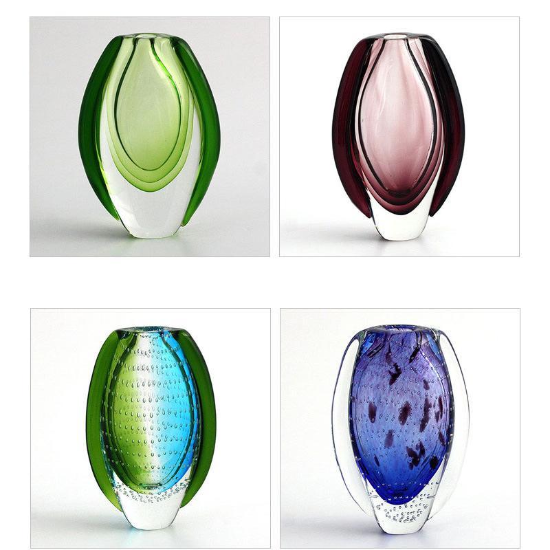 2018 Wedding Decor Glass Vase Handmade Murano Glass Hydroponic