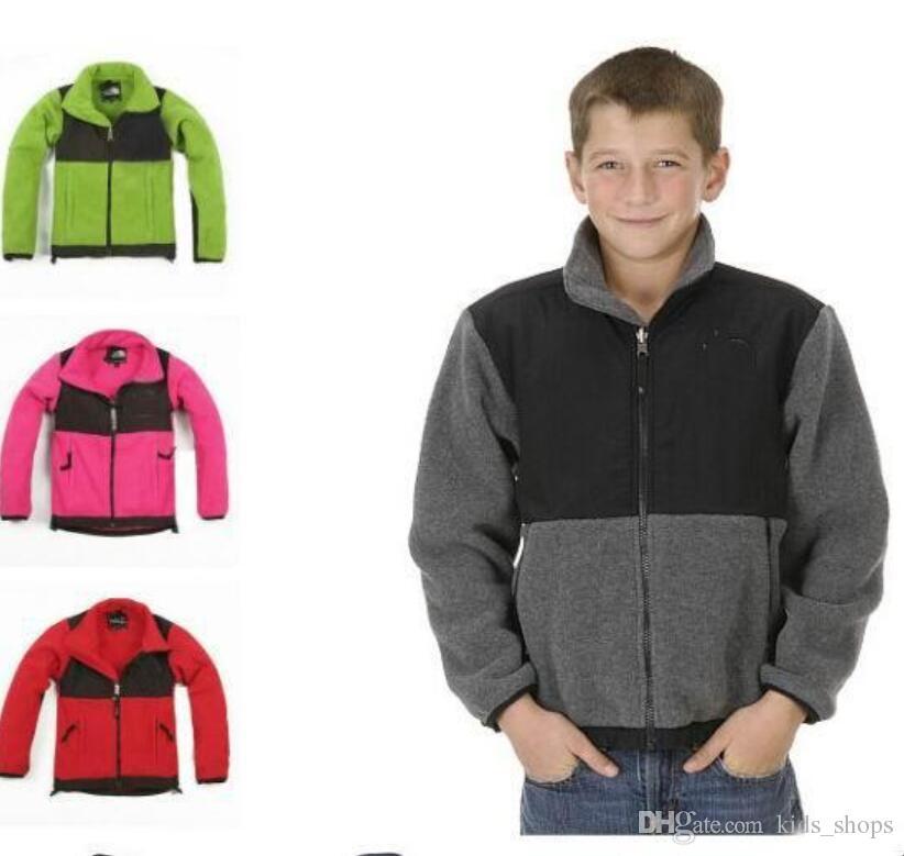 b6eec659029a New Winter Kids Fleece Jackets Coats Fashion Casual Warm Ski Baby ...