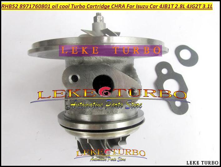 oil cooled Turbocharger Cartridge Turbo Chra Core RHB5 VA190013 VICB 8971760801 For ISUZU Engine 4JB1T 2.8L,4JG2T 3.1L (2)