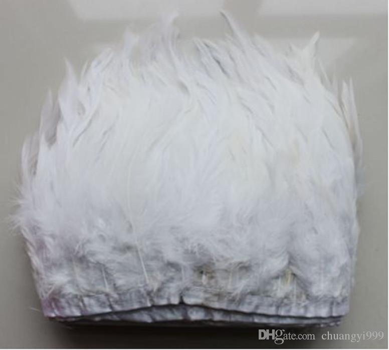 Spedizione gratuita 5 yards / 12-15 cm / 5-6 pollici Coque Rooster Tail Feather Fringe taglio. i che scegli