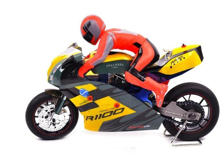 Newest 15 Scale Rc Motorcycle 15cc Nitro Gas Radio Remote Control