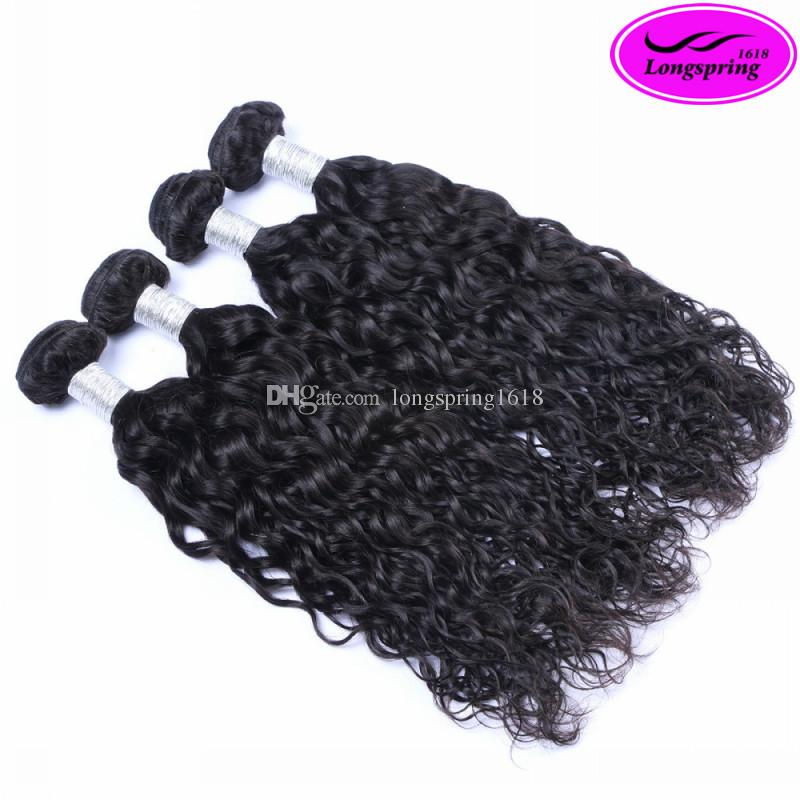 Brazilian Hair Weaves Natural Wave Unprocessed Peruvian Malaysian Indian Cambodian Virgin Human Hair Bundles Double Weft Extensions