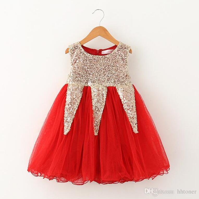 Großhandel 2015 Boutique Baby Mädchen Kleider Kinder Kleidung Kinder ...