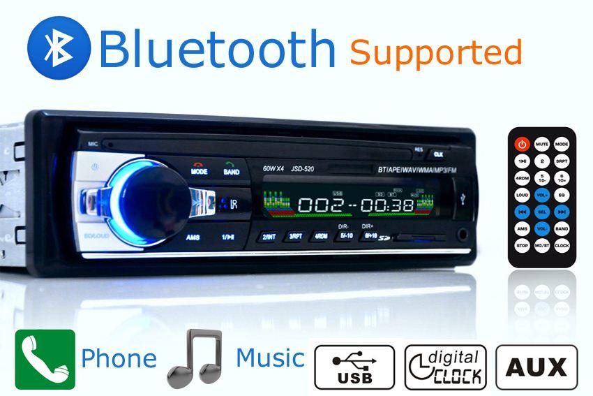 new car radio stereo player bluetooth aux in mp3 fm usb 1 din remotenew car radio stereo player bluetooth aux in mp3 fm usb 1 din remote control for iphone 12v car audio auto support smartphone order≪$18no tr car subwoofer