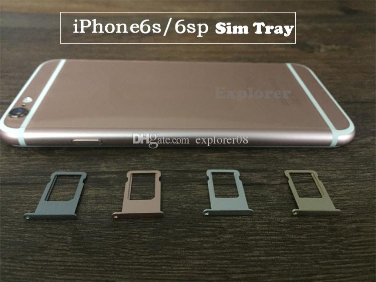 بطاقة SIM حامل إصلاح استبدال قطع غيار لفون 4G 4S 5 5G 5C 5S 6G 6 زائد 6S 4.7 5.5