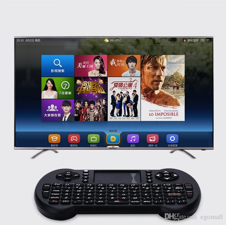 Yeni multi-medya 2.4 GHz Mini Kablosuz Klavye Fare Dokunmatik Pad Presenter Combo Sıcak Promosyon Klavye