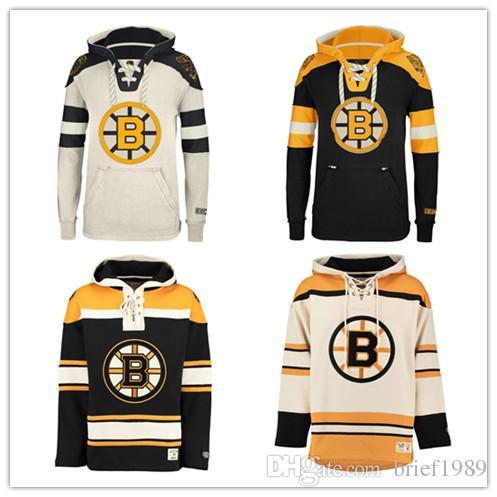 2019 Customized Boston Bruins Hockey Jerseys Uniforms Zdeno Chara Patrice  Bergeron Milan Lucic Men Women Kids Hoodie Hooded Sweatshirt Jackets From  ... 8490fbb30e8