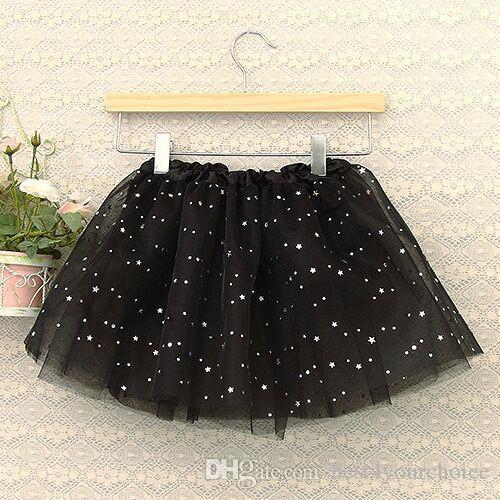 Summer Toddler Girl Shiny Princess Skirt Dance Party Tulle Skirt Petticoat Infant Baby Skirts Gauze TuTu Skirt Costumes
