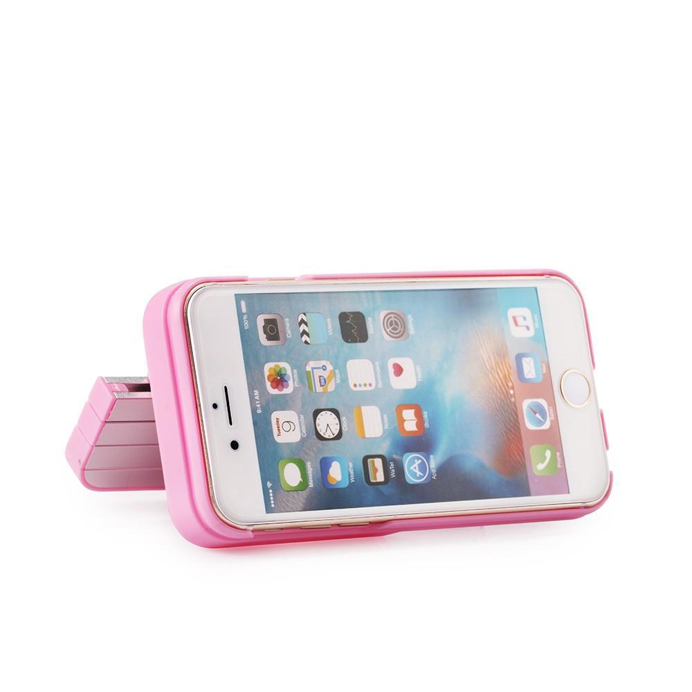 아이폰 8 / 7 / 6s 플러스 접이식 셀 폴리에 대 한 알루미늄 커버 커버 Selfie 스틱에 3 in Iphone 6S / 6 / 7 / 8에 대 한 케이스 블루투스 원격 셔터