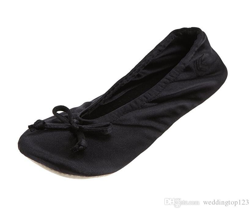d4816282a 2019 Fashion Brand Ballerina Shoes Women Ballet Flats Foldable And Portable  Travel Flat Pregnant Shoe For Bridal Wedding Oxford Shoes Tennis Shoes From  ...