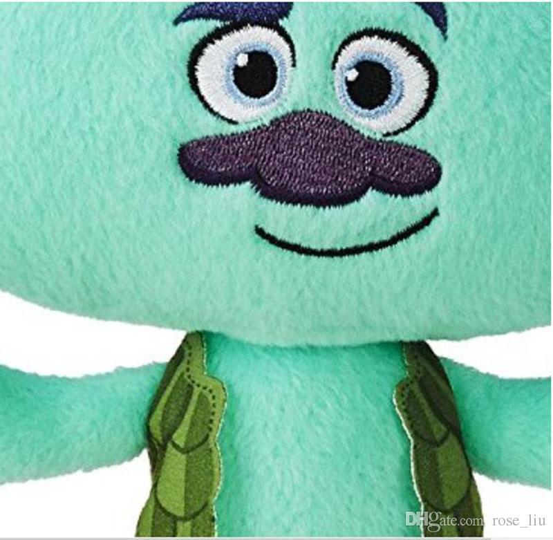 9.2 Inch Trolls Poppy Branch Plush dolls toys 23cm free EMS 2 Design children lovely cartoon Poppy Biggie Plush dolls toy B