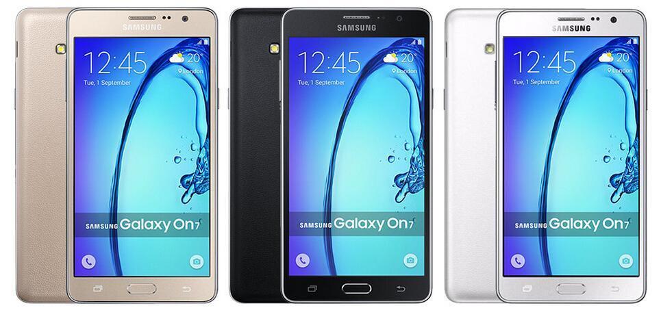 Remis à neuf d'origine Samsung Galaxy On7 G6000 déverrouillé téléphone cellulaire Quad Core 16 Go 5.5 pouces 13MP double SIM 4G LTE