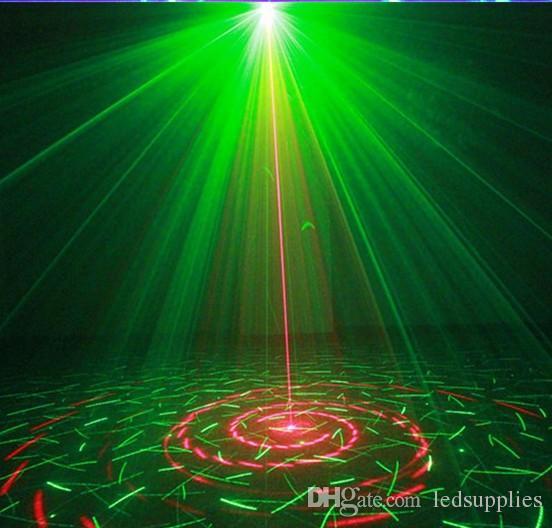 Mini Led RG Início Efeito de Iluminação de Palco 40 Padrões Estrela Projetor Laser Com Remoto lumiere Luzes de Discoteca DJ Partido Stage LightAC110V-220V