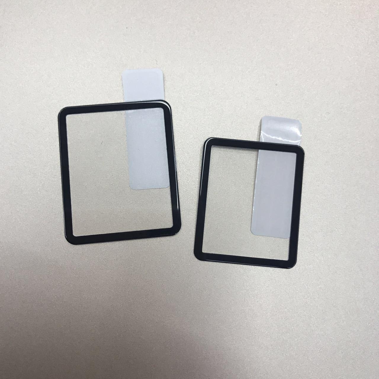 Полный экран шелкография закаленное стекло реальное доказательство гвардии фильм протектор экрана для Apple iWatch серии 1 2 3 38 мм 42 мм