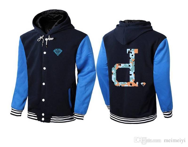 s-5xl 5582 новый шить кожаные рукава толстовки мужчины Алмаз питания Марка толстовка с роскошью толстовка пальто