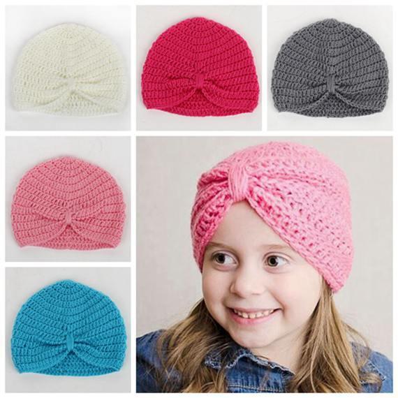 Großhandel Kinder Häkeln Hüte Großhandel Herbst Winter Jungen Kappen